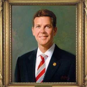 Andy Gardiner's official Senate portrait. Courtesy of Florida Senate.