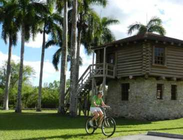 Blockhouse at Collier-Seminole State Park near Naples