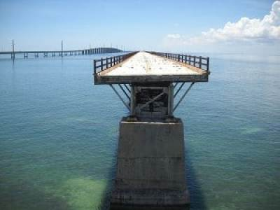 Florida Keys: Old Seven Mile Bridge gap