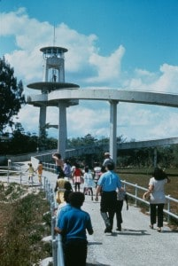 Observation tower at Shark Valley, Everglades National Park