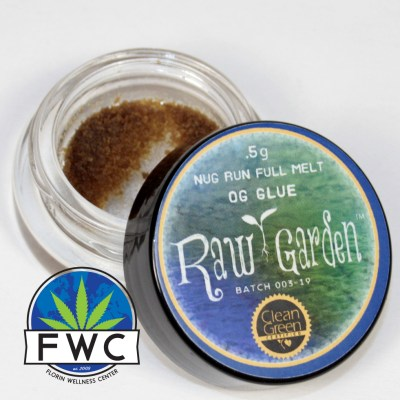 Raw Garden OG Glue Full Melt Hash