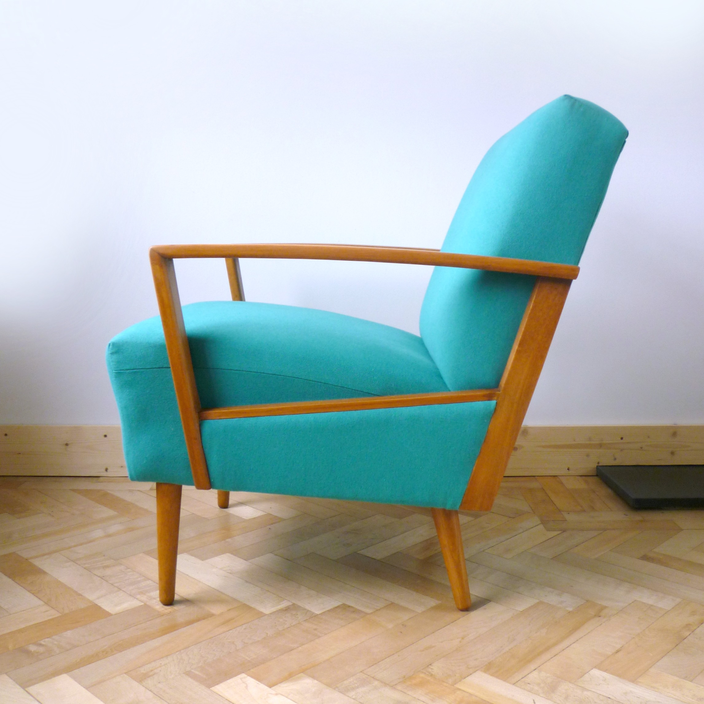 Unique Armchairs Teal Retro Danish Armchair From Drab To Dreamy Florrie 43bill