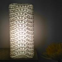 Free Pattern: Knit Lamp Shades | FlorrieMarie