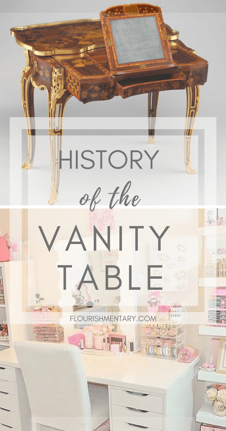 Modern Furniture History How The Vintage Vanity Became The Modern Makeup Table