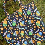 Homemade Fabric Trick-or-Treat Bag Tutorial