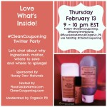 Love What's Inside #Clean Couponing Twitter Party Next Thursday!