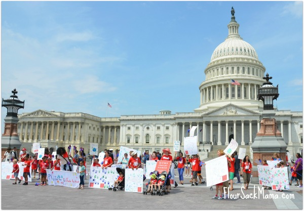 Moms Clean Air Force Play-In Rally at US Capitol