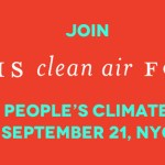Moms in Force at People's Climate March in New York on September 21