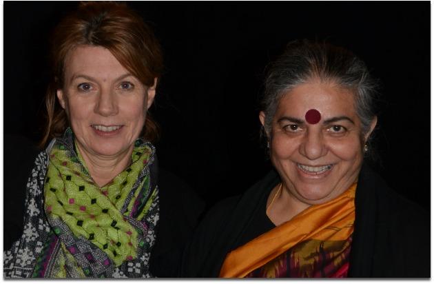 Debbie Barker & Vandana Shiva