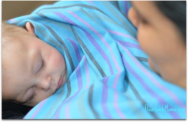 Hip Baby Wrap Nursing Poncho