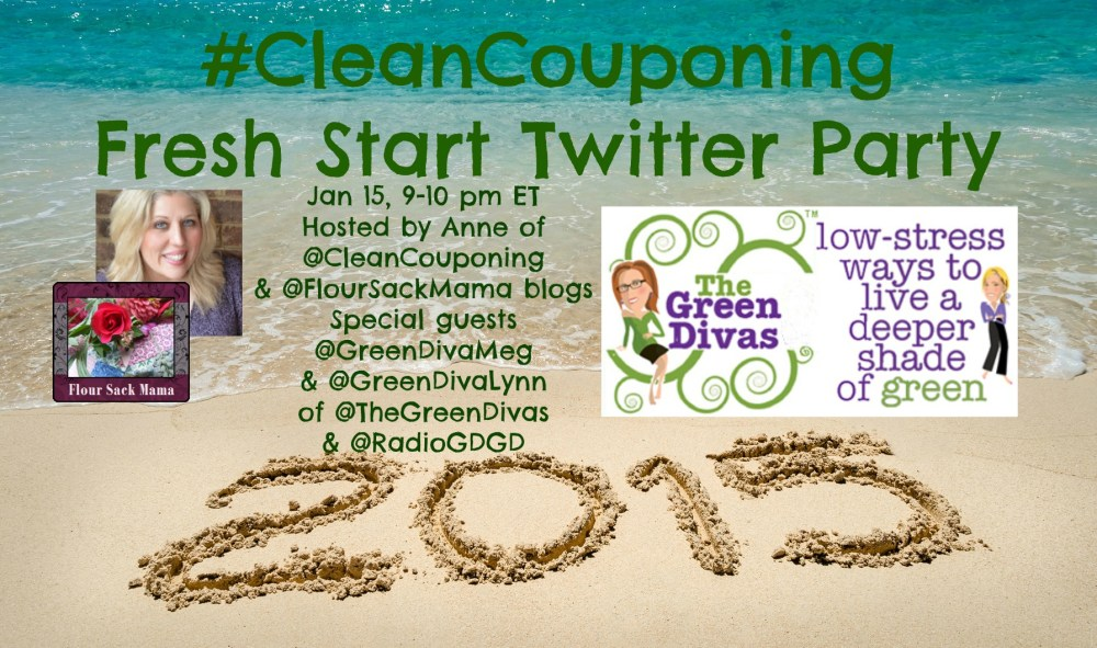 2015 January Clean Couponing Fresh Start
