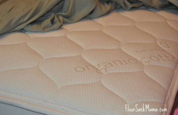 Organic cotton Naturepedic mattress