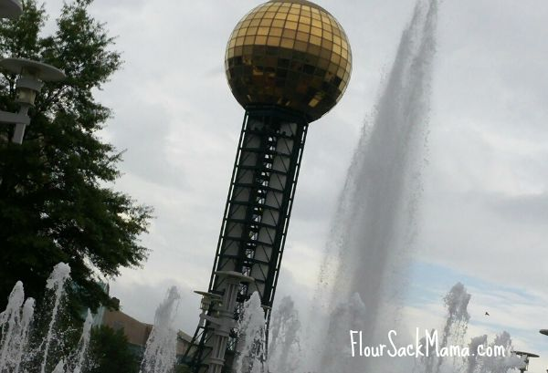 sunsphere in Knoville
