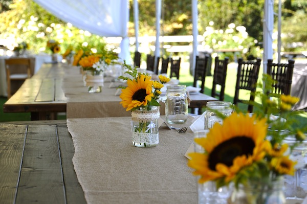 Savannah39s Garden Kristins Fall Sunflower ... & Sunflower Table Settings - Castrophotos