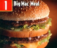 Big Mac meal from McDonald's