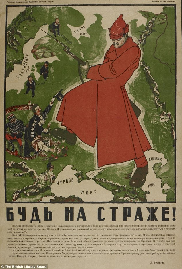 Be on guard russian map