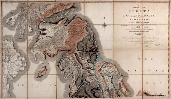 first geographic map