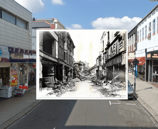historypin - the blitz