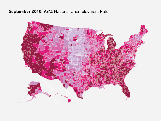 Unemployment Rate - September 2010