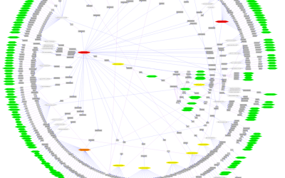 Network visusalization - Radial layout