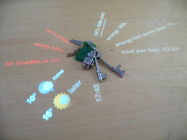 Keys on DisplayCabinet