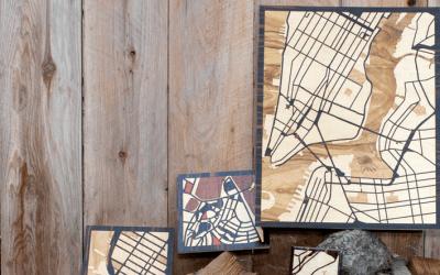 Woodcut maps