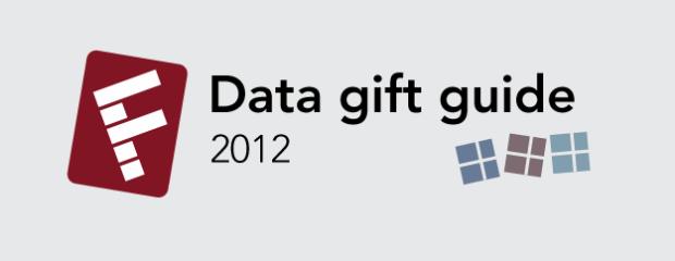 Data Gift Guide 2012