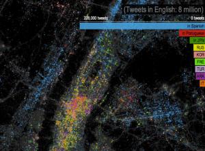 Twitter language NYC