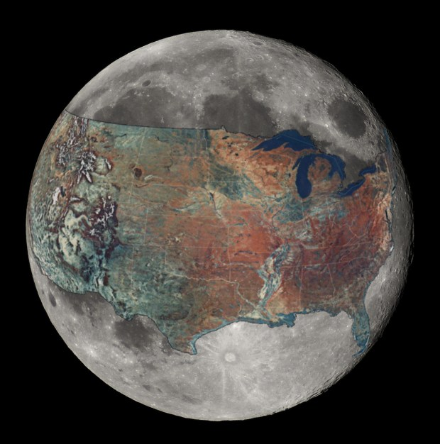 US on the Moon