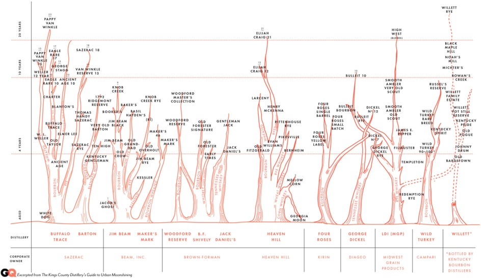 Bourbon family tree