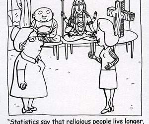 Religion and life expectancy
