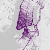 Where People Run in Major Cities