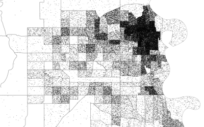 How to make dot density maps