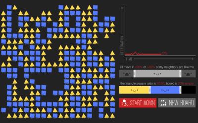 Segregation simulation