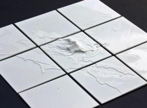 3d printed map data