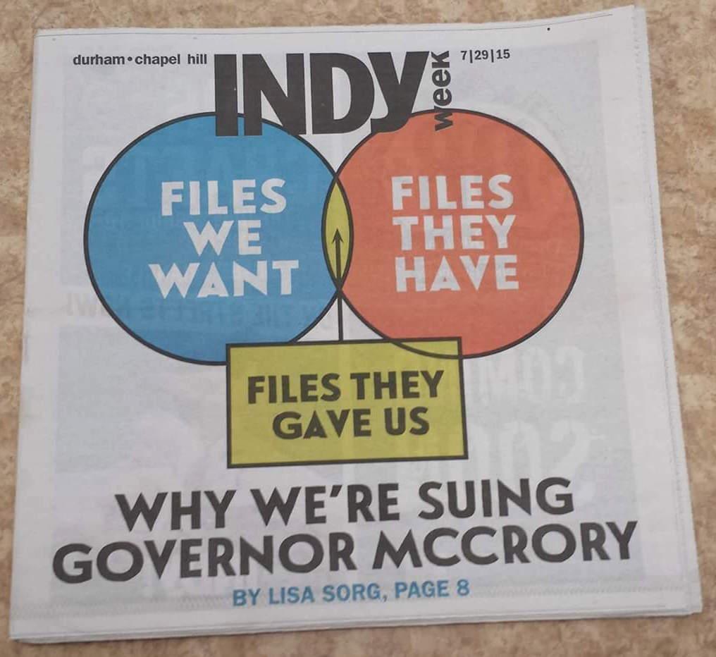 Indy Week oops