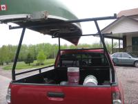 How To Attach Kayak To Roof Rack. Cartopping Home Built ...