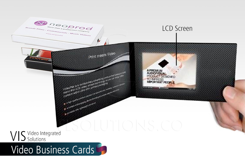 Video Business Cards generate maximum ROI by combining video with a