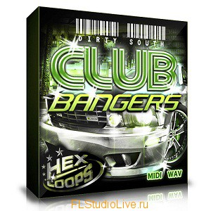 Пакет сэмплов и лупов Hexloops - Dirty South Club Bangers для FL Studio