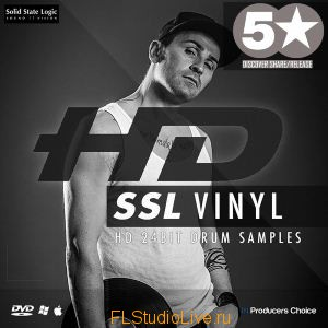 Набор Сэмплов Producers Choice - HD SSL Vinyl Drum Kit Samples для FL Studio