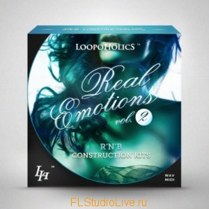 Коллекция лупов Loopoholics Real Emotions Vol.2 Rnb Конструкционные пакеты - для FL Studio