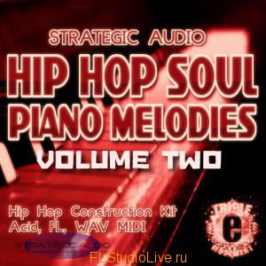Strategic Audio Hip Hop Soul Piano Melodies Vol.2