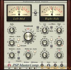 Скачать VST плагин для FL Studio PSPaudioware MasterComp v1.8.0