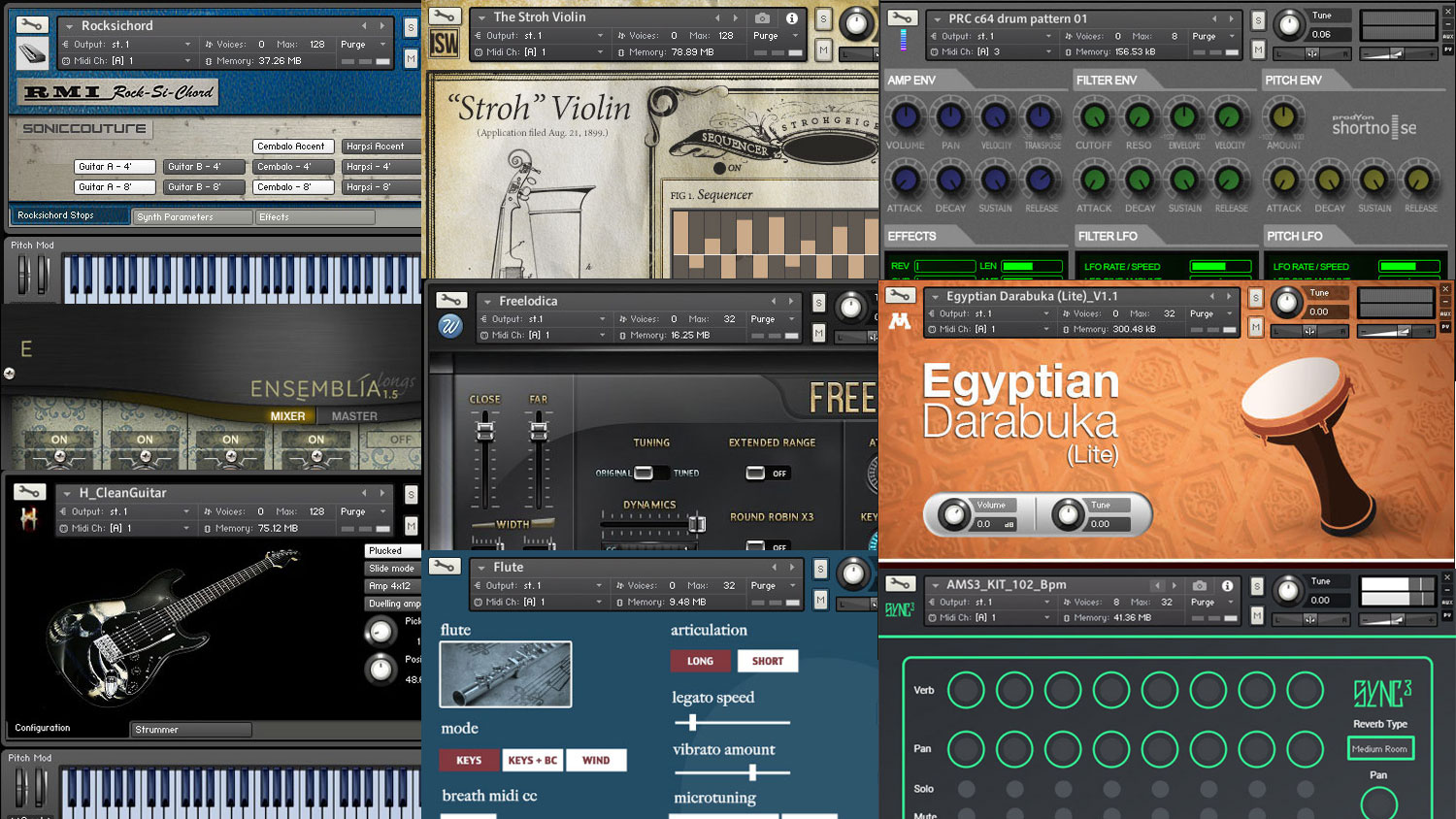 Librerie Software 38 Best Free Kontakt Libraries Pianos Keyboards Strings