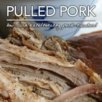 Slow Cooker Pulled Pork - Low Carb | Sugar Free Goodness