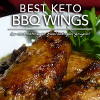 Best Keto BBQ (Barbeque) Wings - Low Carb Sugar Free