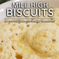 Mile High Keto Biscuits - OWL | Low Carb | Gluten Free