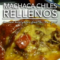 Machaca Chile Rellenos - Low Carb Keto | Grain Free |Gluten Free