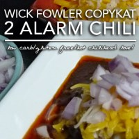 Wick Fowler's 2 Alarm Chili Copykat - Low Carb & Gluten Free
