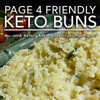 Keto Buns - Gluten Free | Low Carb|Page 4 & Induction Friendly